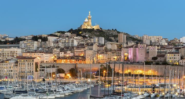 马赛旧港(Vieux Port)