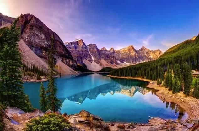 加拿大班夫路易斯湖