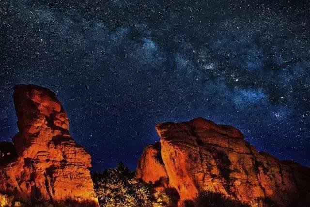 大峡谷星空