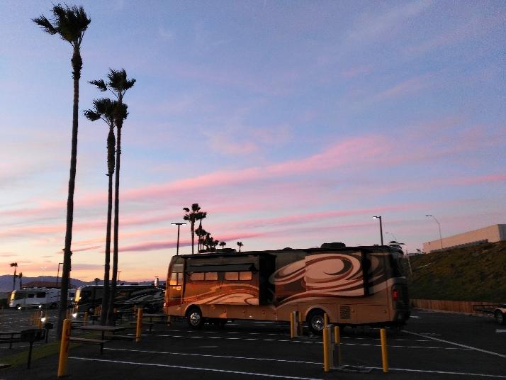 冬季美国房车营地
