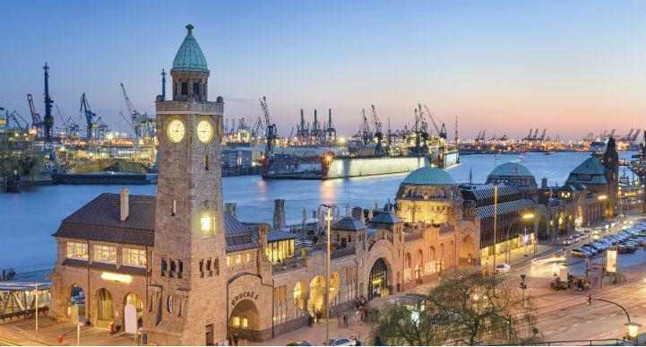 汉堡是一个北方港口,也是重要的文化中心
