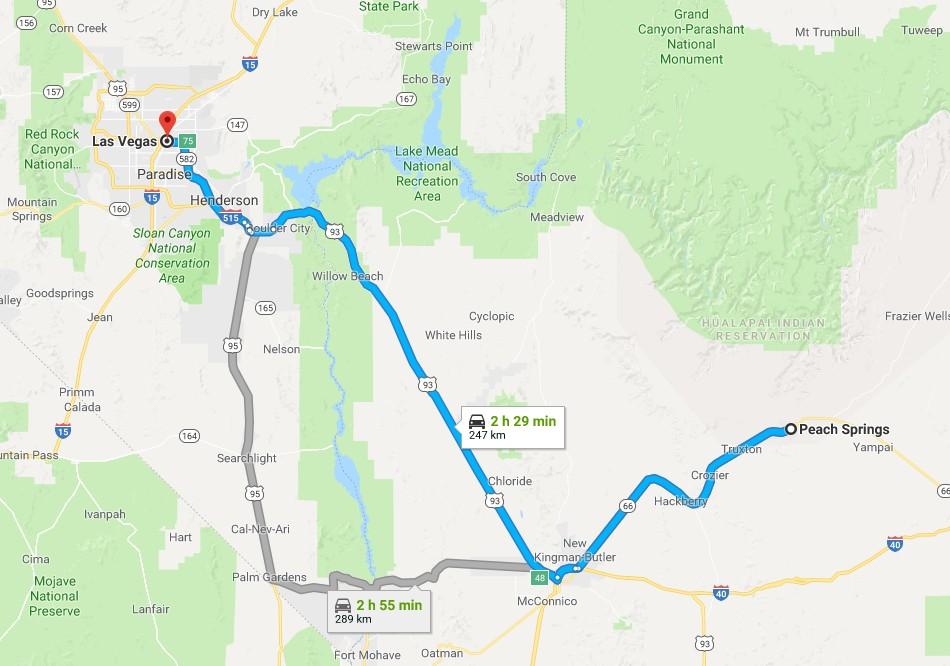 美国房车自驾路线美国房车自驾游大峡谷拉斯维加斯