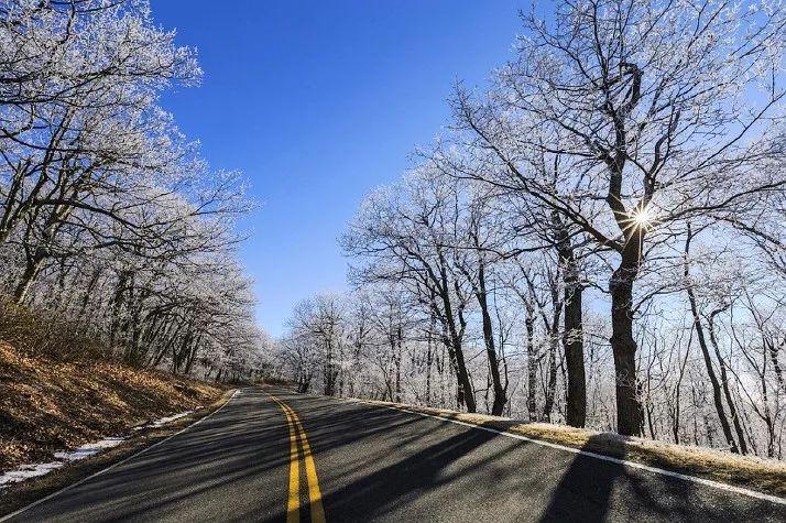 淡季旅行冬季美国