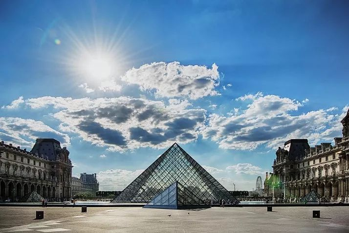 法国房车自驾游巴黎罗浮宫