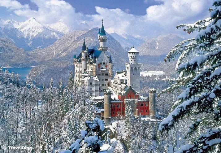 新天鹅城堡欧洲房车旅行