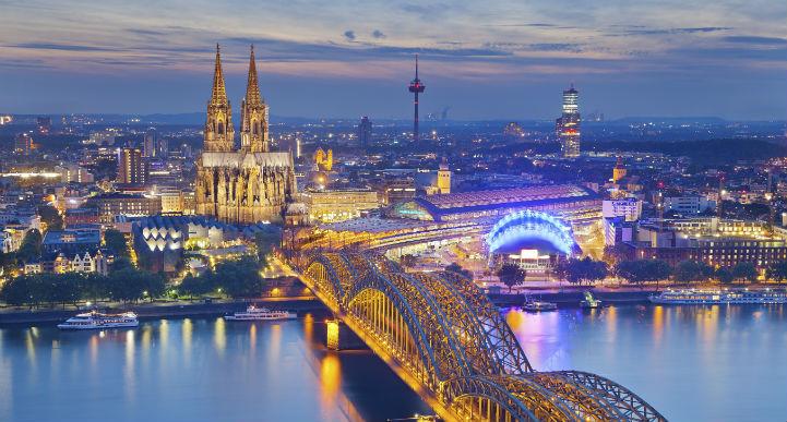 在古教堂驻足观瞻,或体验丰富多彩的夜生活:在科隆,您自由定义生活。