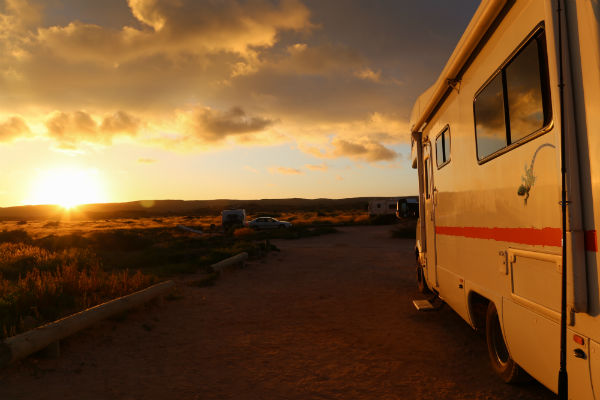 Make sure when you stop for the night to free camp in your Australia motorhome rental that it's an area where free camping is permitted.