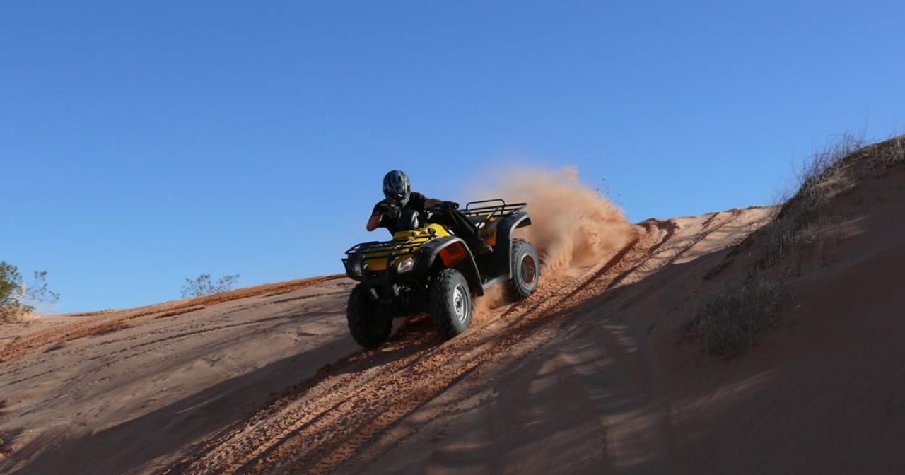 ATV tour Las Vegas