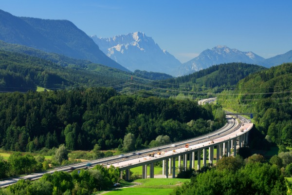 Autobahn, germany car rental