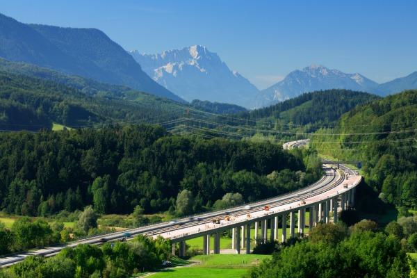 Autobahn, germany car rental