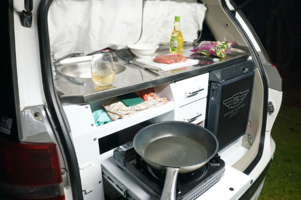 Cooking in a motorhome gets a lot easier if you put a bit of thought into what you buy beforehand.