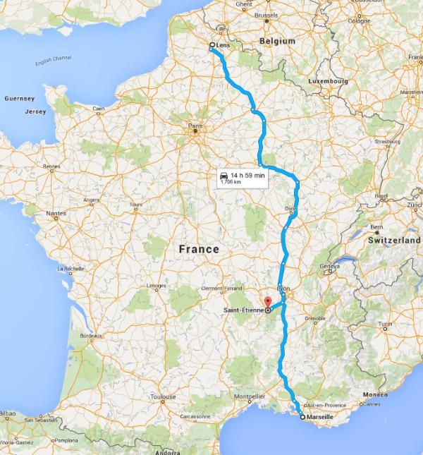 England UEFA road trip