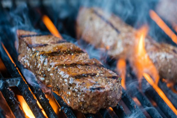Enjoy a steak on the barbie in Brisbane (bbq)