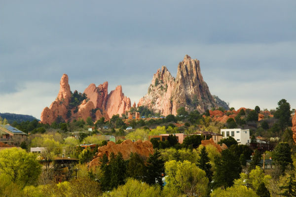 The spectacular Garden of the Gods is within easy reach of RV holidaymakers starting out in Colorado Springs.