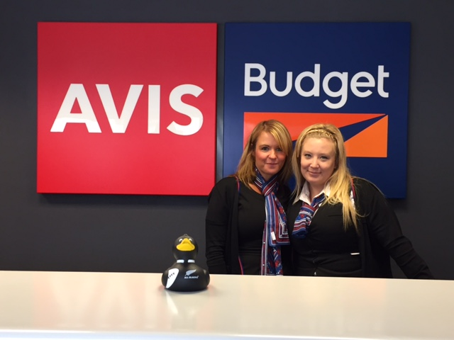 Avis Newcastle team