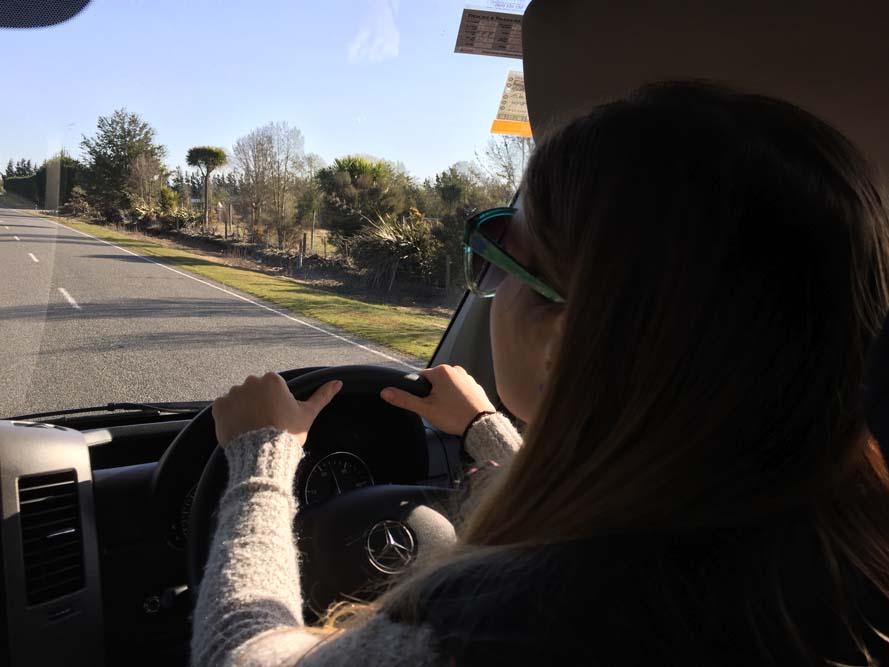 Dirigindo na Nova Zelândia