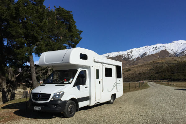 A motorhome gives you almost unlimited holiday options in New Zealand.