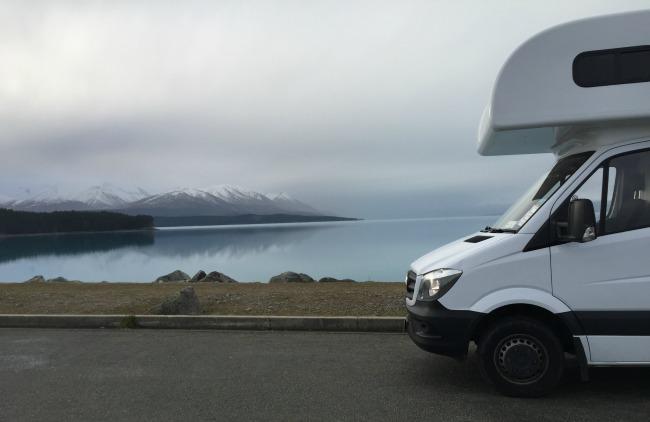 Camping-car Nouvelle Zélande