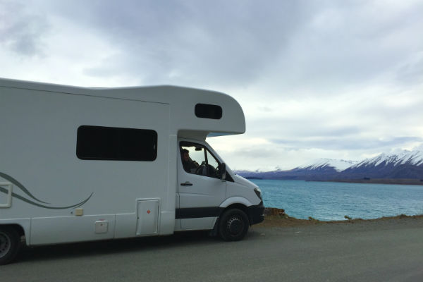 Booking a certified self-contained campervan is crucial for freedom camping in New Zealand.