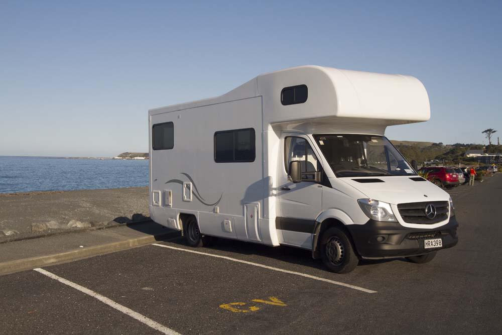 Stationnement pour camping-car