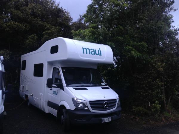 Maui 6 berth campervan