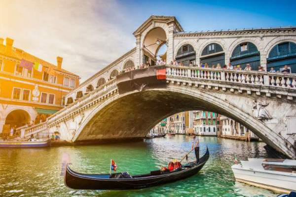 Venice Bridge of Love, Italy