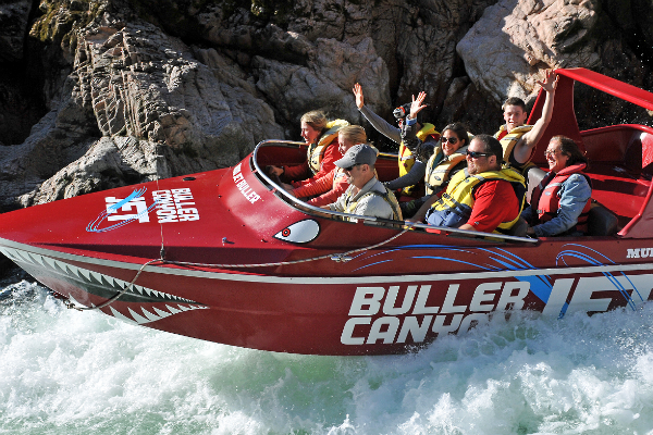 Jetboating is just one of the adrenaline spiking activities you can enjoy in Murchison.