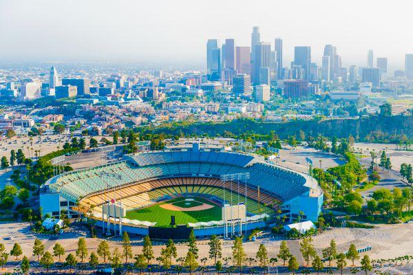 LA dodger stadium