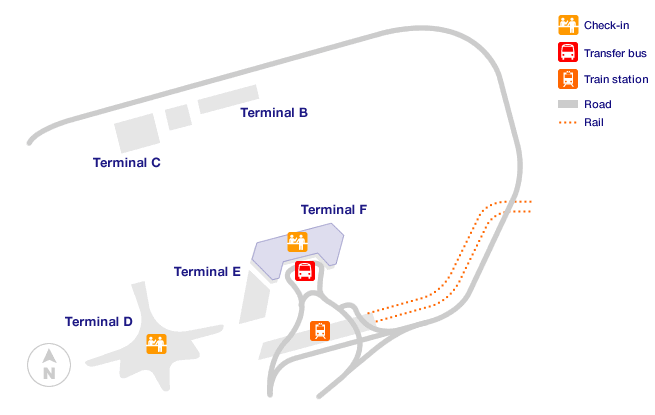Moscow Sheremetyevo Airport Terminal Map
