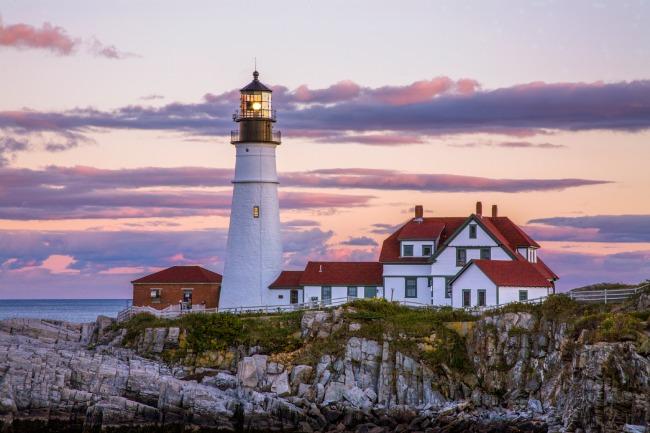 美国波士顿和新英格兰
