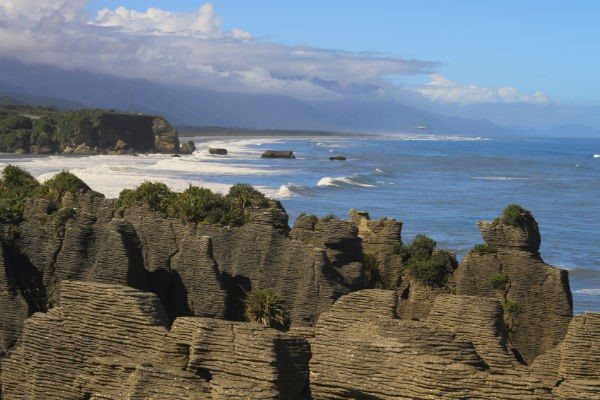 Punakaiki and the Pancake Rocks are one of the South Island's most distinctive natural landmarks - keep an eye out for seals!