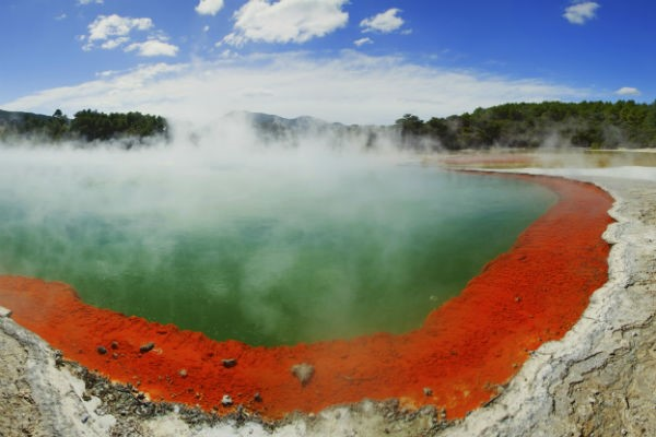 Rotorua's geothermally active landscapes sometimes look like they belong on another planet.