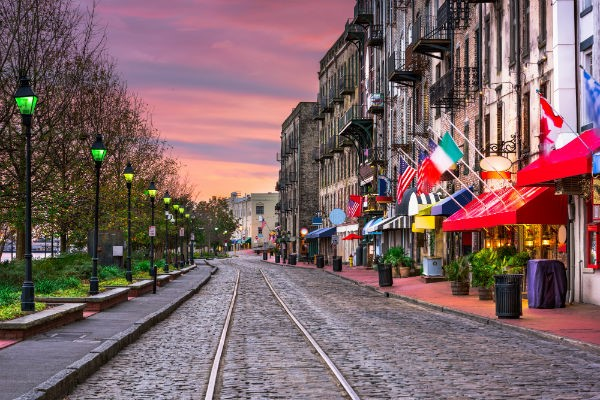 Savannah has a proud heritage, and those with a bent for history will find plenty to interest them.