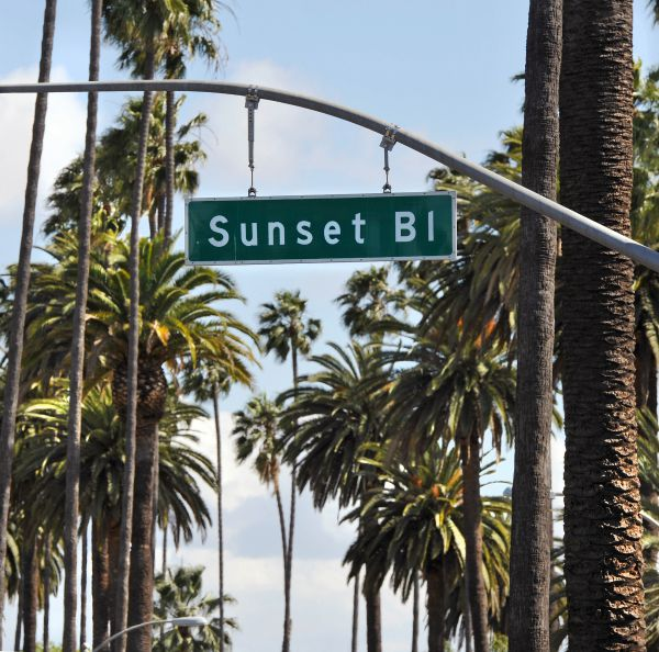 sunset strip, Los Angeles