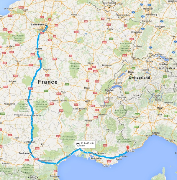 Sweden UEFA Roadtrip map