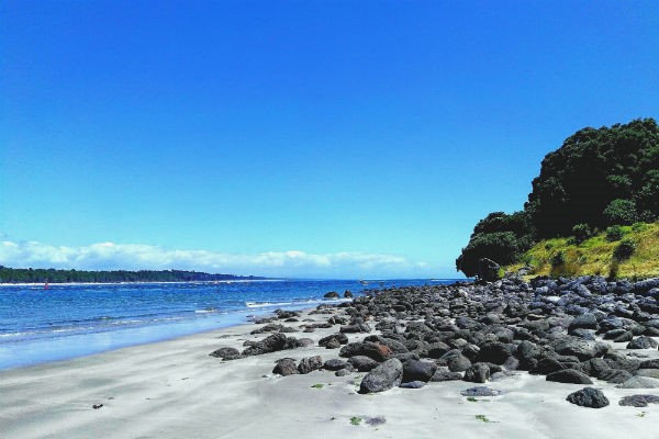 Tauranga's coastline is one of the most tourist friendly landscapes in New Zealand.