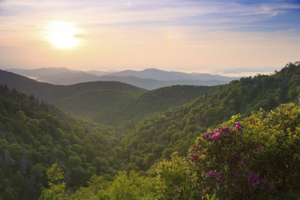 The Blue Ridge Mountains provide some of the most gorgeous scenery that can be found in the eastern United States.