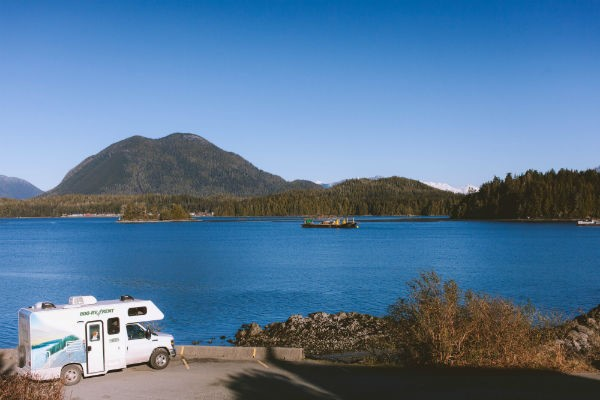 The stunning environs of Tofino are a popular destination for motorhome travellers starting out in Vancouver.