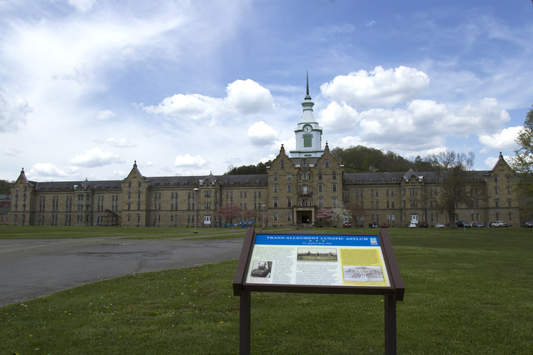 Trans-Allegheny Lunatic Asylum West Virginia