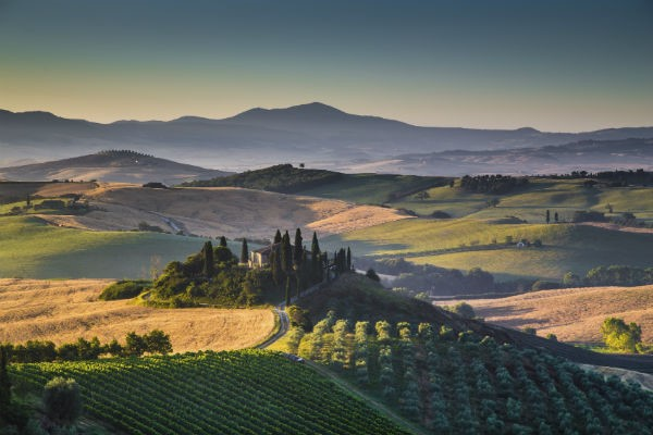 The winding roads of Tuscany are practically begging for a motorhome road trip.