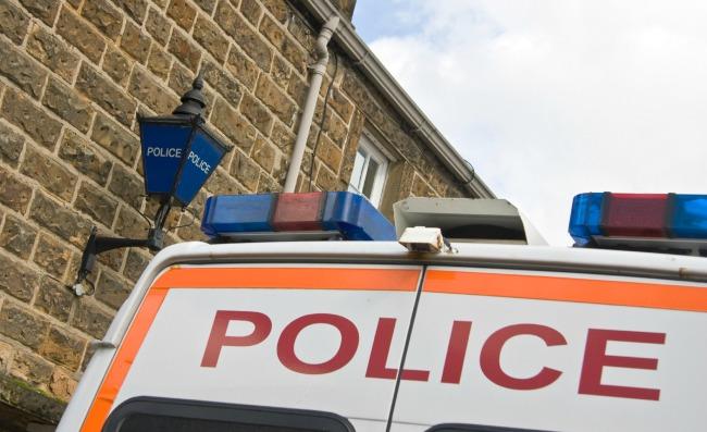 Beschreibung: UK police car.jpg