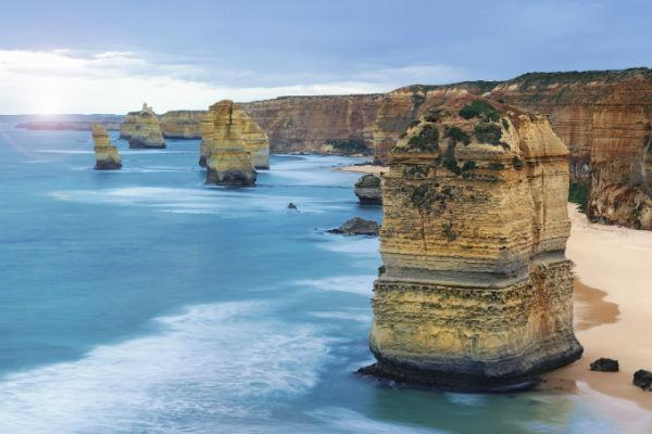It's a bit of a drive from Adelaide to the 12 Apostles on the Great Ocean Road, but well worth it for avid roadtrippers.
