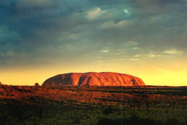 Uluru (also known as Ayers Rock) is hands down the Australian Outback's most iconic sight.