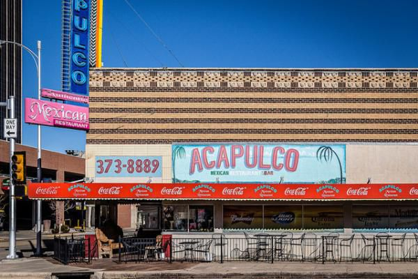 Amarillo is a hub for dining and antiques.