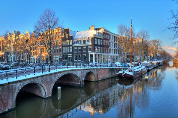 Winter in Amsterdam is just as stunning as summertime