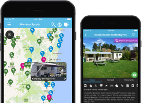 The Motorhome Republic Travel App is the perfect companion for anyone taking a campervan around Australia or New Zealand.