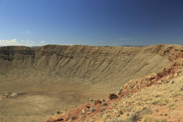 The Flagstaff Meteor Crater is an impressive sight