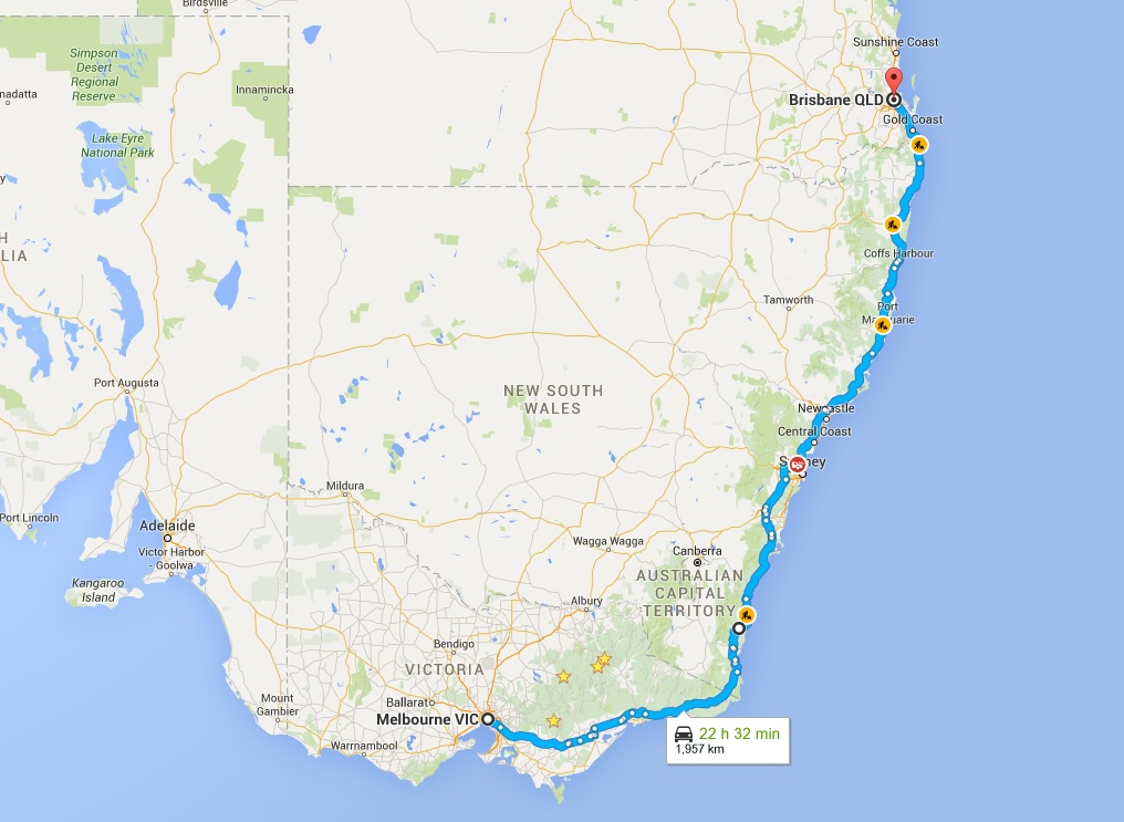 Australia East Coast Driving Guide