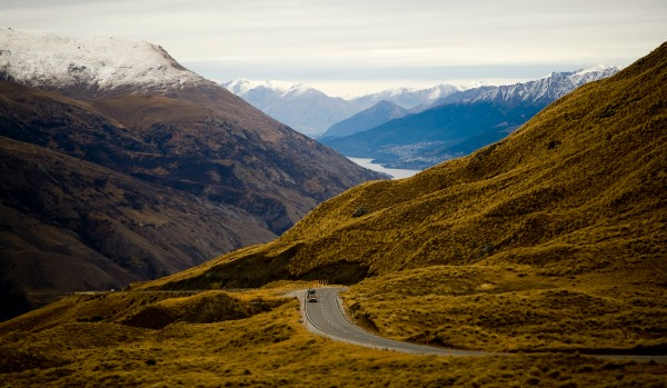 New Zealand Otago road