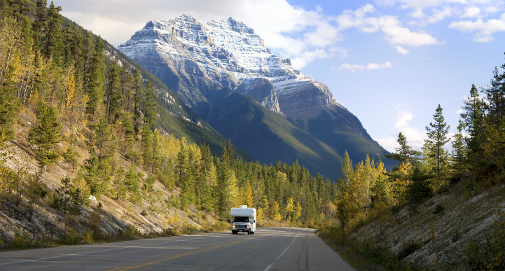 Banff national park rv rental